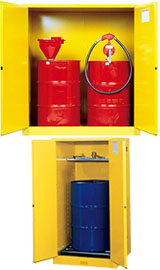Justrite Drum Cabinets For Flammables